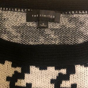 The Limited Sweaters - Limited Black and White Sweater